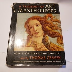 Other - Treasury of art Masterpieces Thomas craven